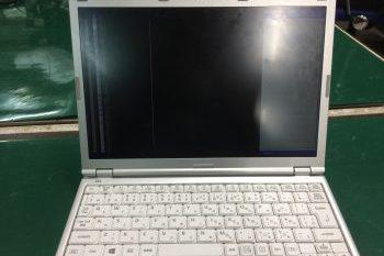 パナソニック(Let's note)ノートパソコン液晶割れ→液晶交換修理